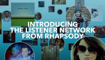 Rhapsody debuts social network to match music lovers and improve discovery