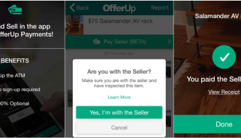 Craigslist rival OfferUp tests mobile payments in Seattle, letting buyers pay sellers inside its app