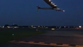 Solar Impulse landing