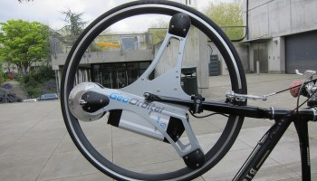 Reinventing the electric bike: GeoOrbital goes 'Tron' with new wheel
