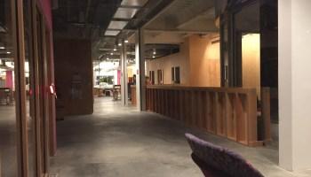 Sneak peek inside Facebook's new Seattle digs: Plywood walls, rooftop deck, hints of Frank Gehry