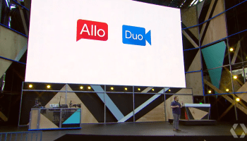 Google's new messaging and video chat apps, Allo and Duo, to compete with Skype and FaceTime