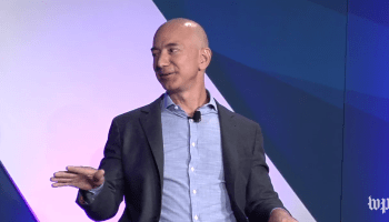 Jeff Bezos responds to Donald Trump: 'It's not an appropriate way for a presidential candidate to behave'