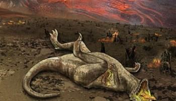 Dinosaur die-off
