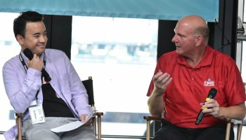 Steve Ballmer on new technology in sports: 'We still haven't beaten the kiss cam'