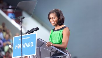 Michelle Obama jabs at Donald Trump's tweets during emotional DNC speech