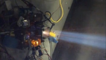 Tethers Unlimited's Hydros thruster tested