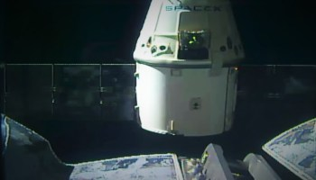 SpaceX Dragon departure