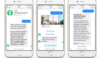 Trulia Messenger bot