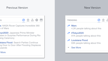 Facebook automates Trending Topics after bias claims, and it looks a lot like Twitter