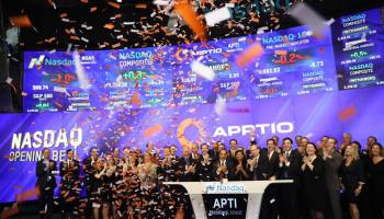 Apptio stock soars 46 percent as enterprise tech company debuts on Wall Street