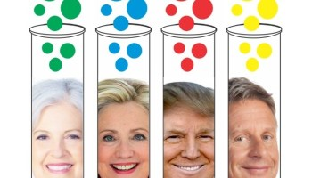 Candidates in test tubes