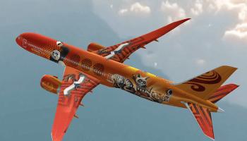 Kung Fu Panda jet