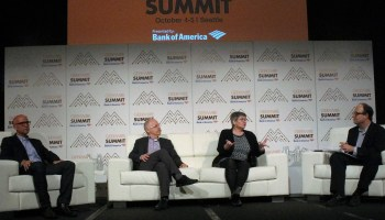 Amazon Web Services and Microsoft likely to hang onto their cloud leads, journos say at GeekWire Summit