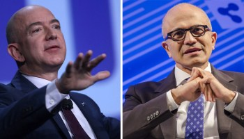 Amazon reportedly tried to poach Satya Nadella, and Microsoft is happy it didn't happen