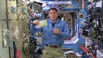 Shane Kimbrough on International Space Station