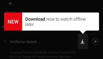 Netflix now lets you download movies and TV shows to watch offline