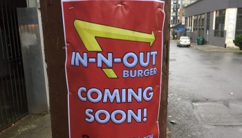 Amazon bringing In-N-Out Burger to Seattle? Getting to the bottom of this mysterious sign