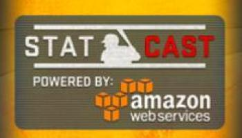 Here's why you're seeing the Amazon Web Services logo during the World Series