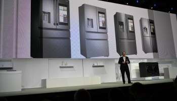 Samsung doubles down on smart refrigerators with second generation of tablet-as-a-door technology