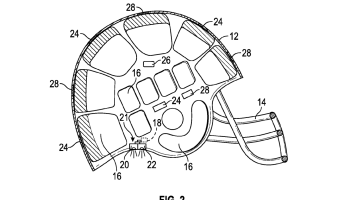 Bill Gates and Intellectual Ventures attempt to patent a high-tech football helmet