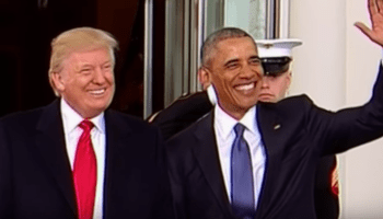 What did Trump say now? Oh, it's just a great new Bad Lip Reading video from Inauguration Day