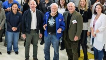 Bezos and Aldrin