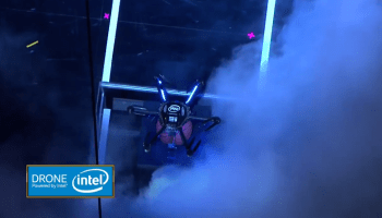 Drone dunk: Intel's hexicopter makes an appearance at the NBA Slam Dunk Contest
