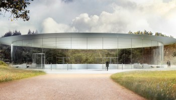 Apple's spaceship has landed: 175-acre 'Apple Park' opens in April with 1,000-seat 'Steve Jobs Theater'