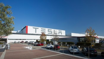 Tesla workers consider unionizing as employee cites low pay and injuries at California plant