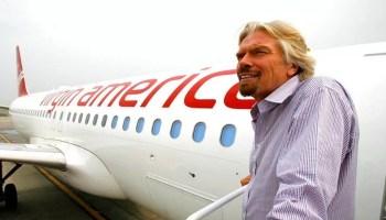 Richard Branson and Virgin America