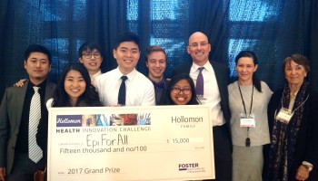 Affordable EpiPen alternatives, and helping kids walk: Highlights from the UW health innovation challenge