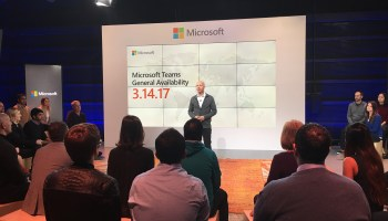 Microsoft Teams launches globally, taking on Slack, Amazon, Google, others in high-stakes chat battle