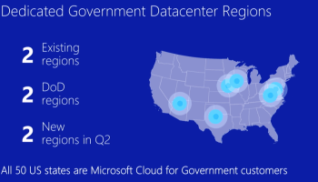 Microsoft Azure adds new data analytics, voice and facial recognition to its government cloud