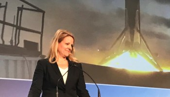 SpaceX's Gwynne Shotwell says rockets should fly almost as often as airplanes
