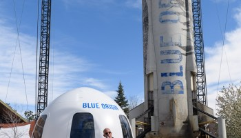 Video: Blue Origin's president points out upgrades on New Shepard spaceship