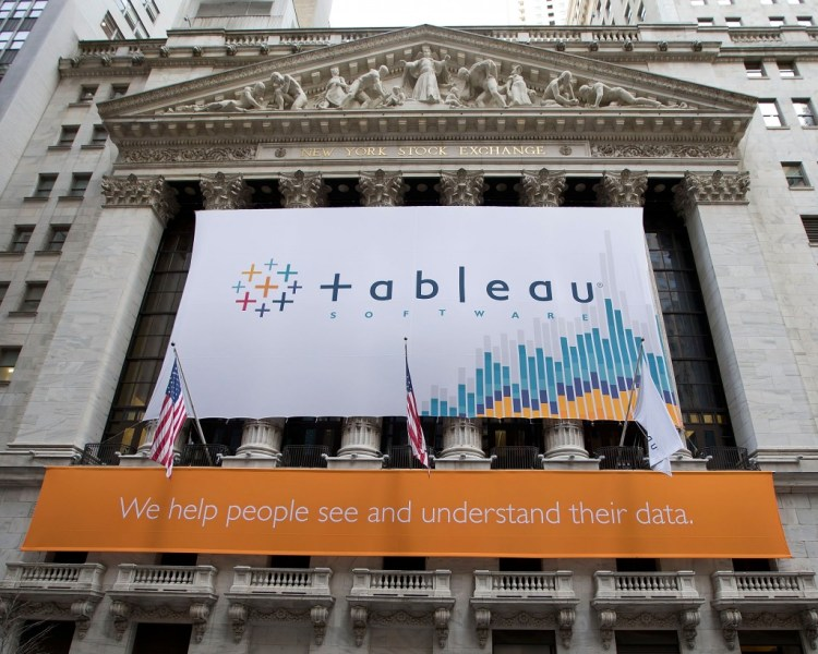 Tableau shifting to subscription model in new bid to boost data     Tableau went public in 2013