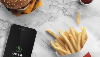 McDonald's and UberEATS