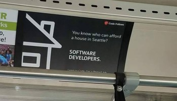 'You know who can afford a house in Seattle?' Code Fellows pulls divisive ad touting software salaries