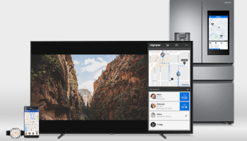 Glympse location sharing comes to Samsung TVs, lets users track friends, family, pizza from couch