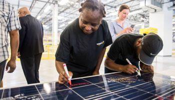 Amazon solar panels