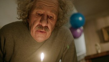 Geoffrey Rush as Albert Einstein in