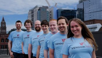 The Vendorhawk team. (Vendorhawk photo)