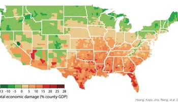 Study says climate change could increase North vs. South economic inequality