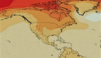 IPCC RCP6.0 projections for temperature rise