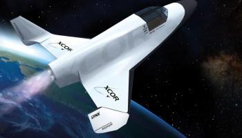 XCOR Lynx rocket plane