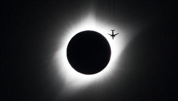 Eclipse plane picture