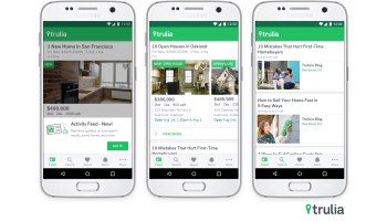 Trulia launches Facebook-like news feed for home listings and real estate tips