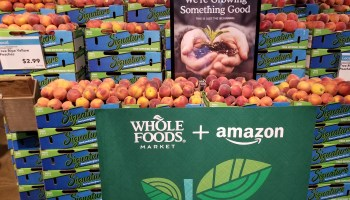 One month in: Whole Foods in-house items on the rise among Amazon's top-selling brands