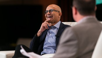 Satya Nadella, the full GeekWire Summit interview: Microsoft's transformation and the future of tech